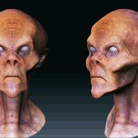 Zombie alien cover