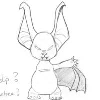 Bat bat front cover