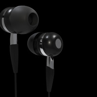 In ear2 black cover