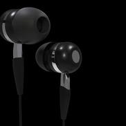 In ear2 black small