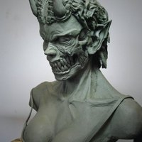 Demon sculpt2 cover