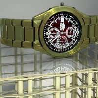 Brass watch occ cover