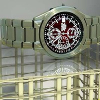 Stainless steel watch occ cover