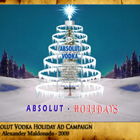 Absolut vodka holiday ad campaign cover