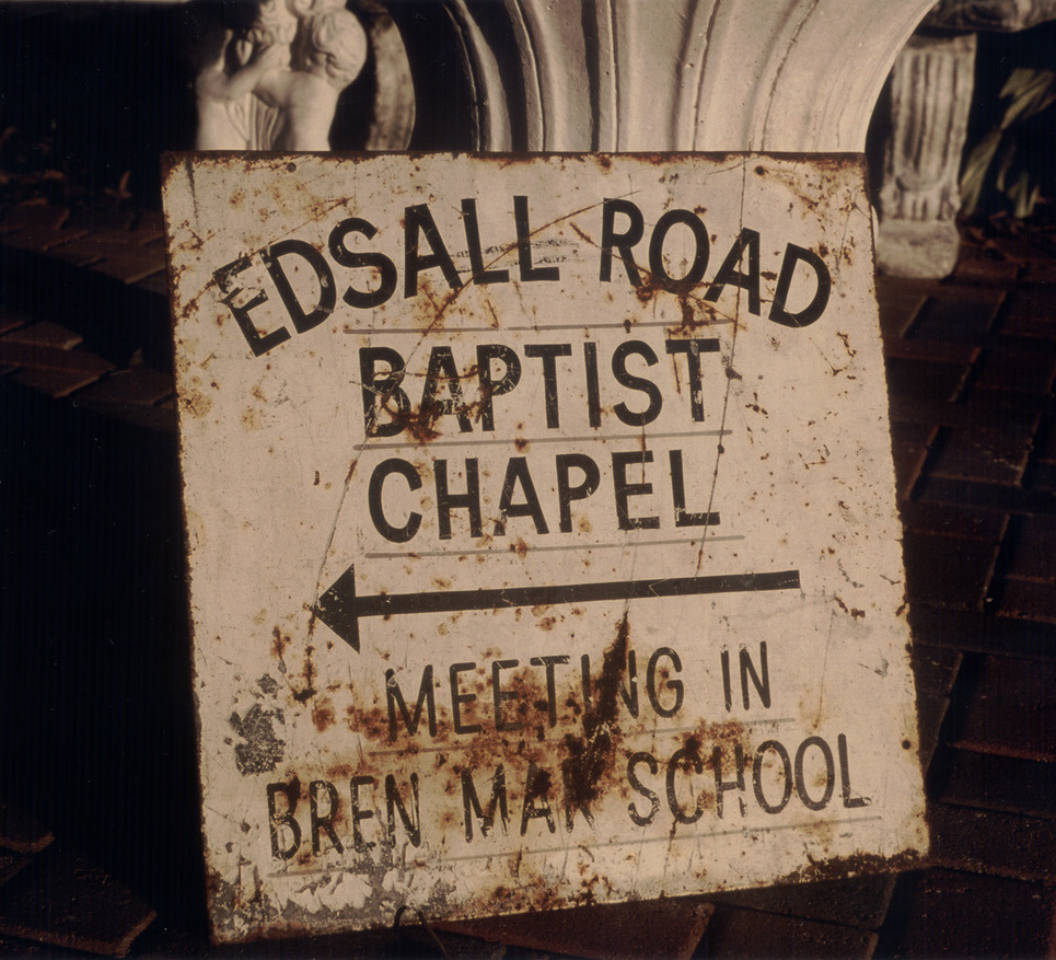 Edsall road chapel sign show