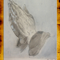Master recreation   dhurer s praying hands cover