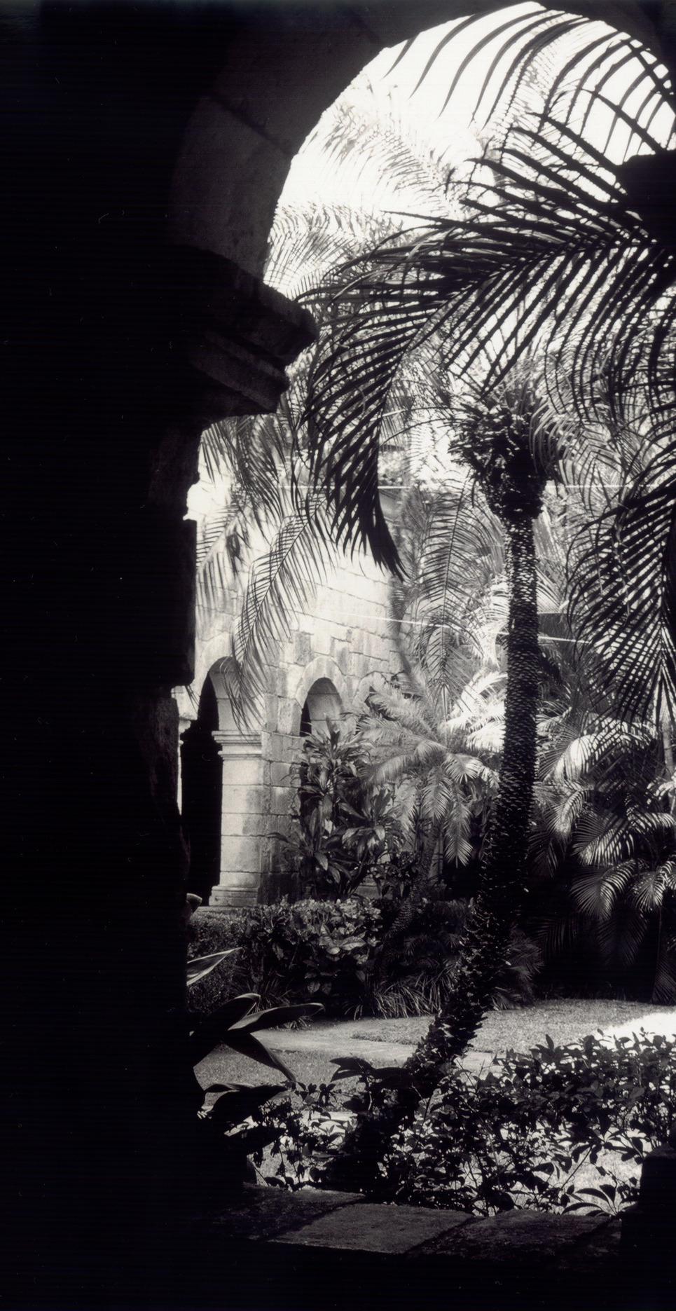 Monastery doorway show