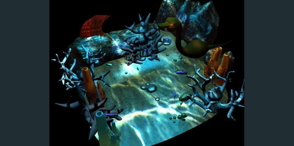 Waterworld waterlite show