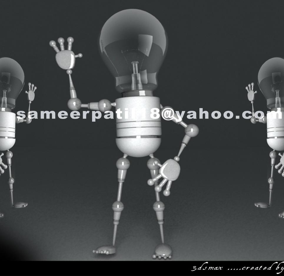Bulb robo show