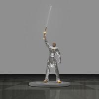 Astoreth levantando la espada cover