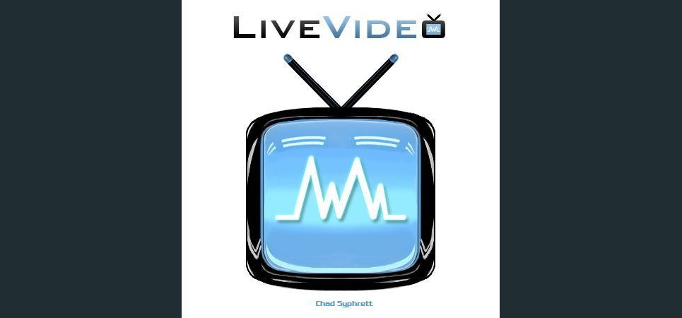 Livevideo logo concept   light sound wave by chad syphrett show