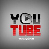 Youtube logo concept   play button on grey bg by chad syphrett cover