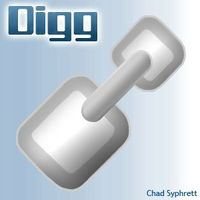 Digg logo concept   link shovel by chad syphrett cover