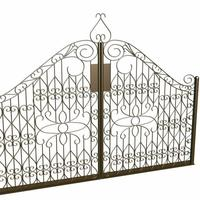 3d gate cover
