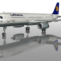 A321 lufthansa sidelow cover