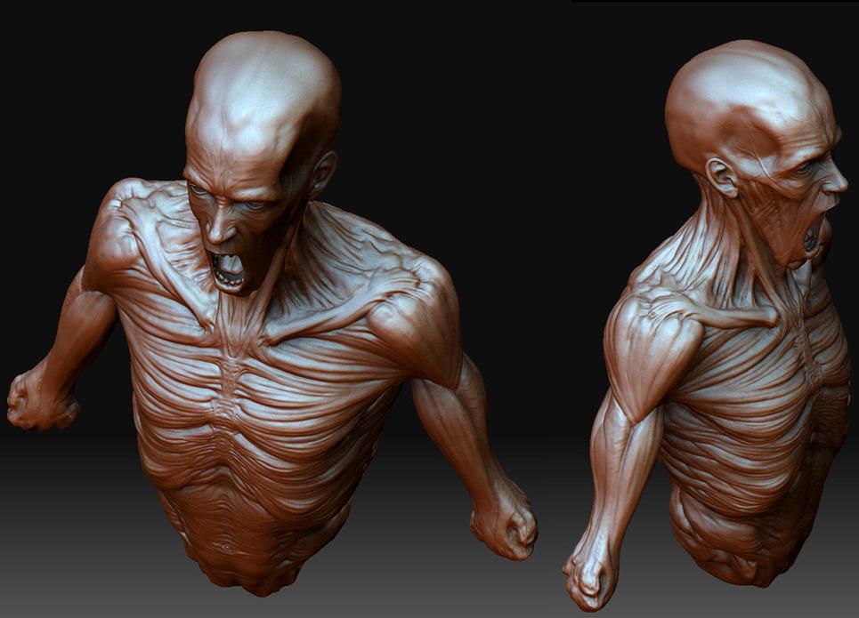 Skinny man show