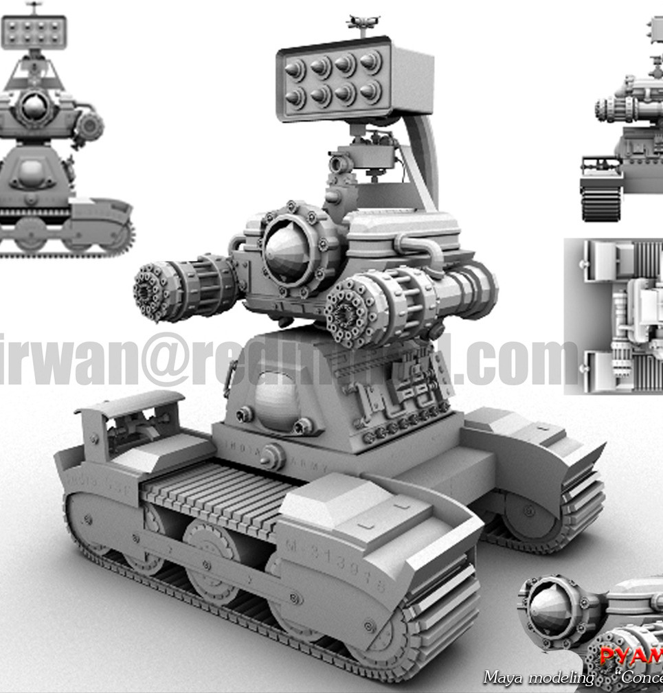 Concept tank show