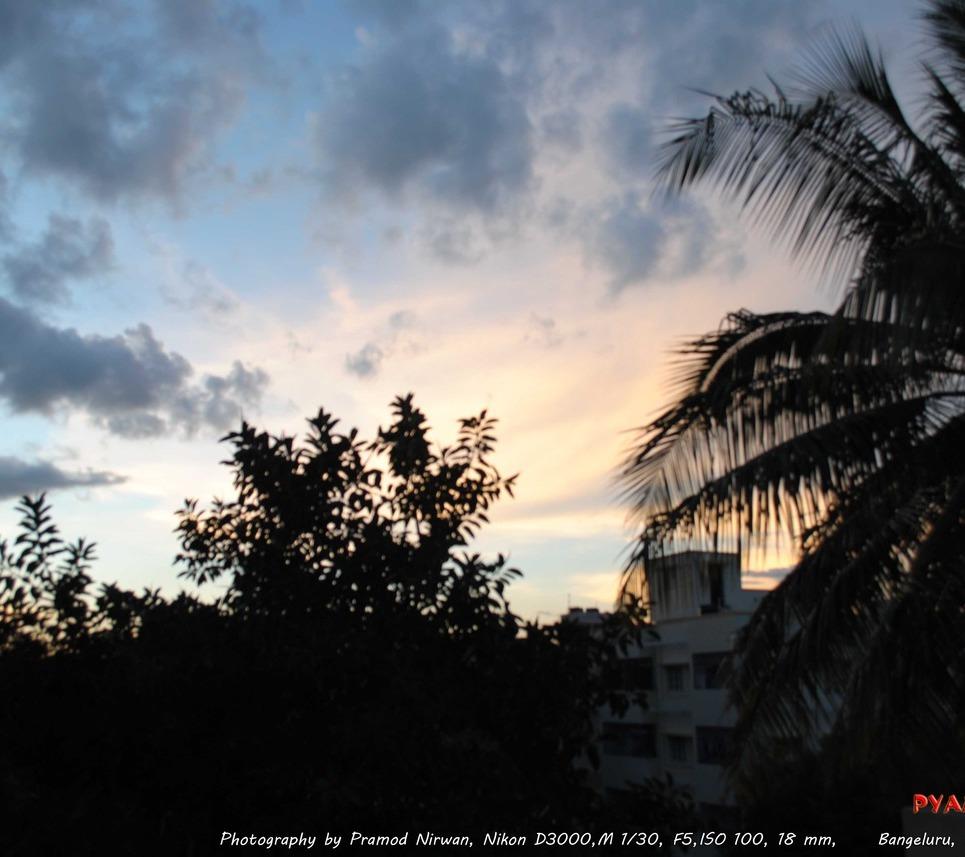 Sun set show