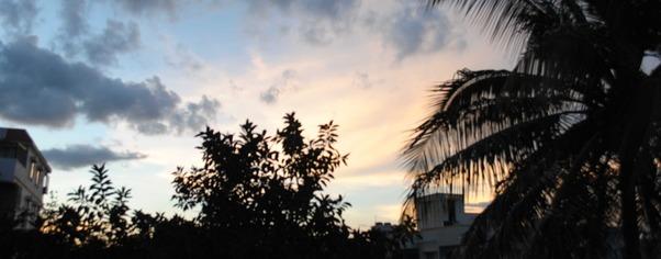 Sun set wide