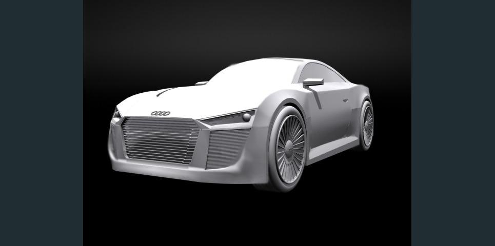 Audi concept6 show