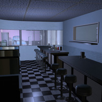 Diner3d cover
