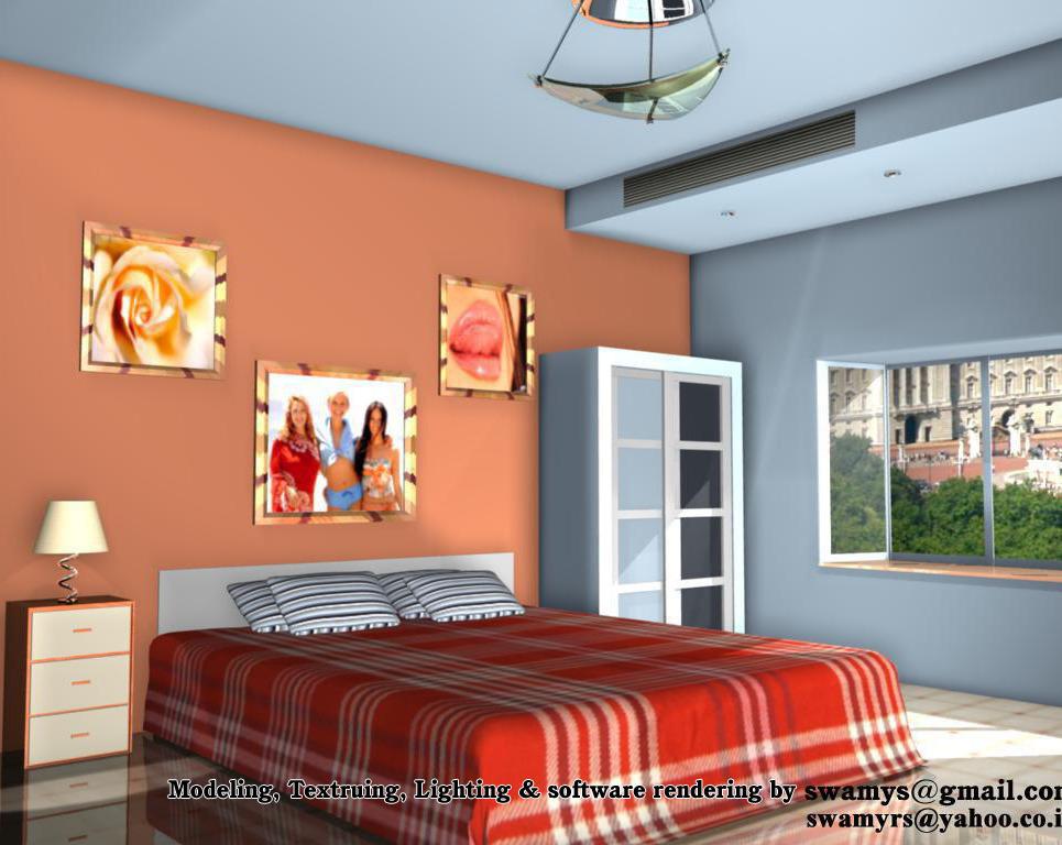 Software rendering room show