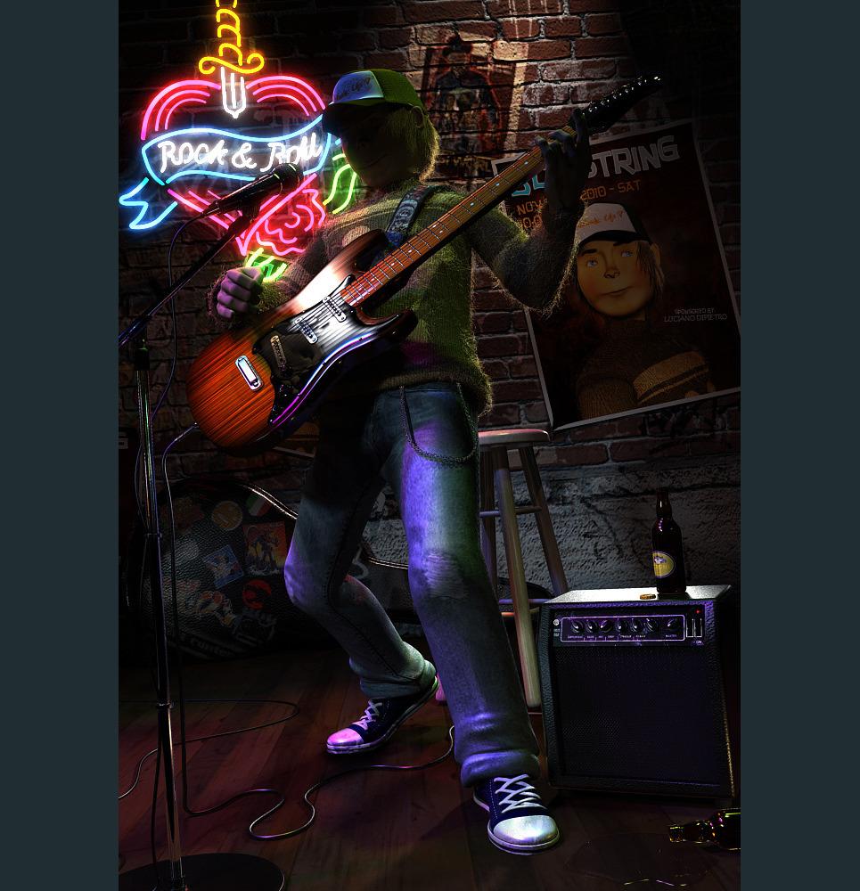 Guitarist show