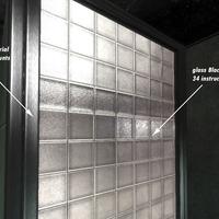 Glassblock cover