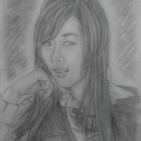 Korean model hwang mi hee cover