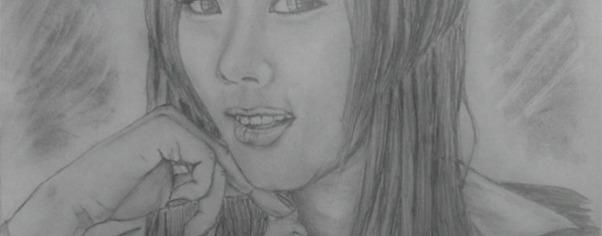 Korean model hwang mi hee wide