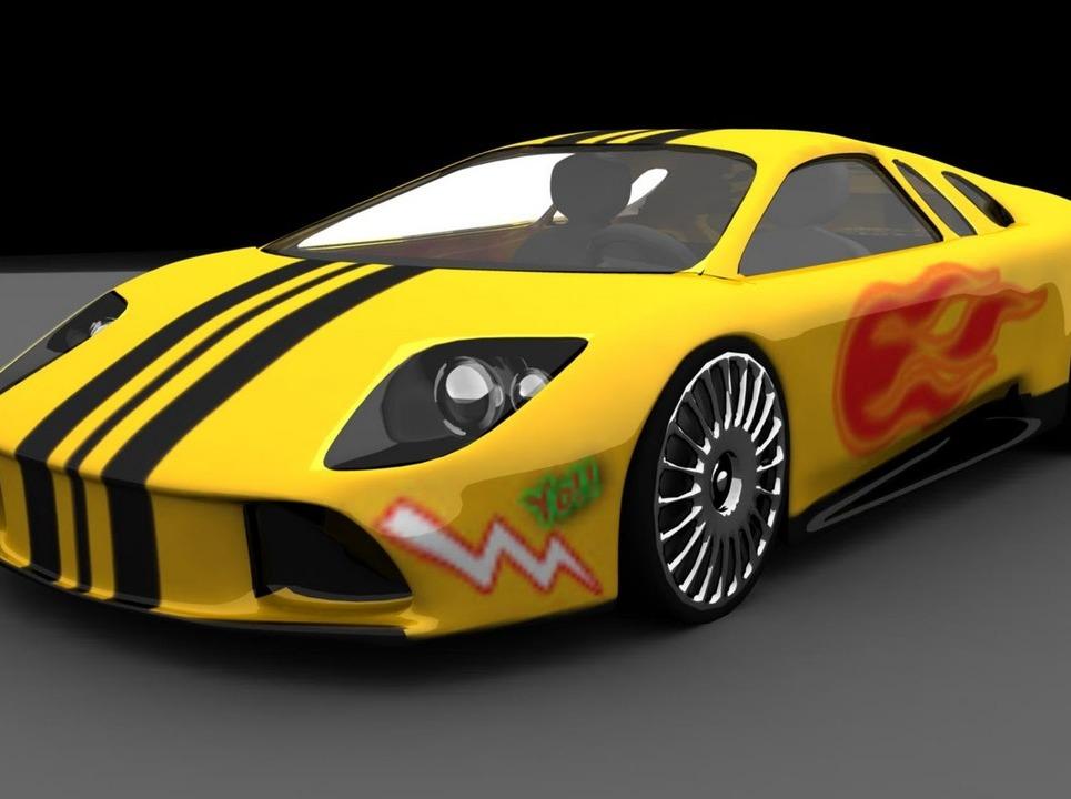 Lamborghini murciliego   by yogi show