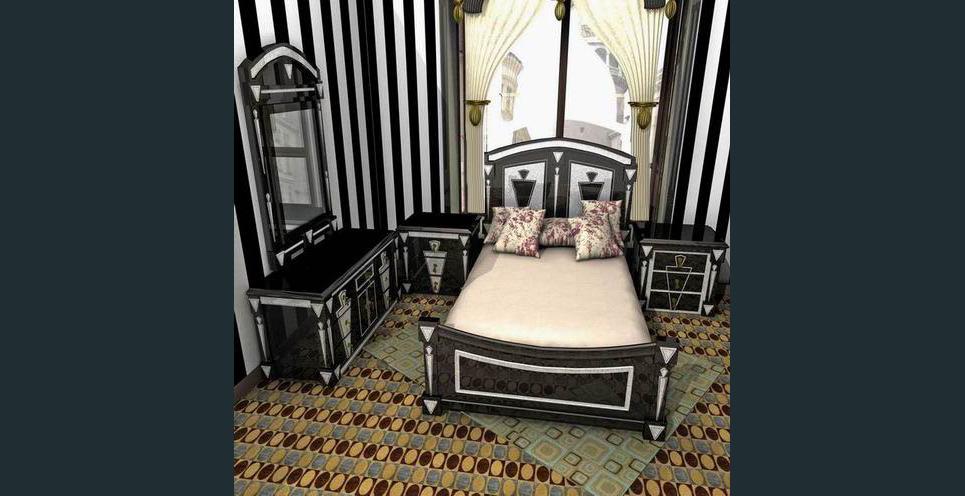 Bedroom designs base on middle east market 2 show