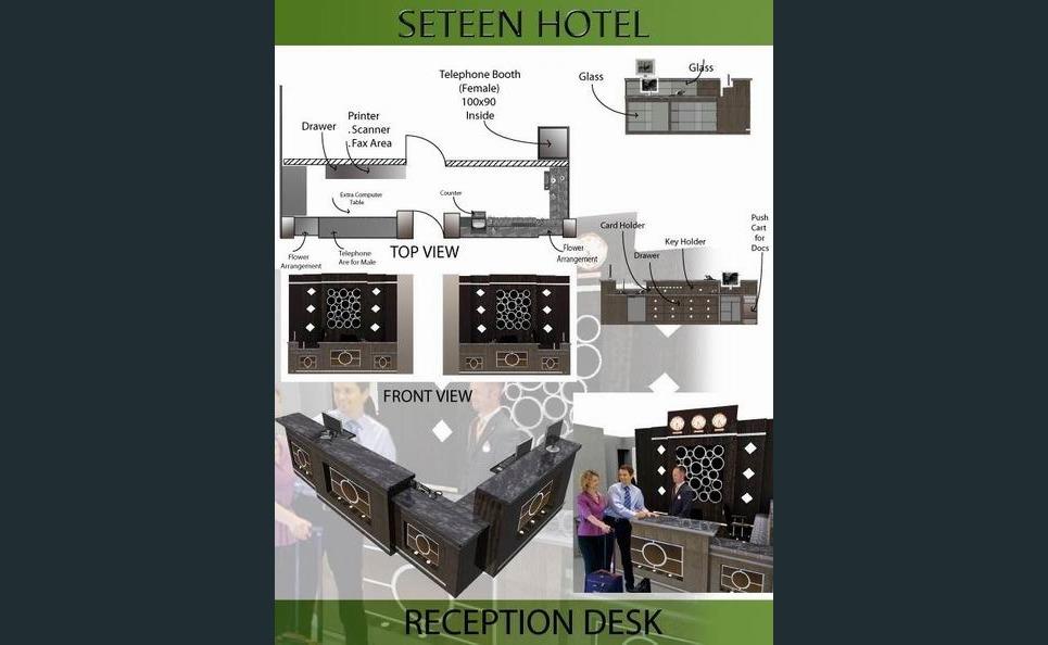 Seteen hotel receptiondesk final show