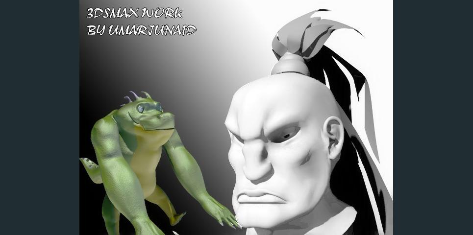 Porfolio character show