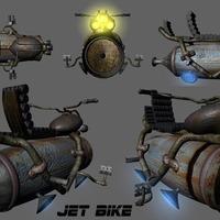 Jet bike render cover
