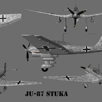 Stuka render grey background cover