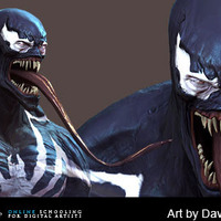 Venom closeup cover