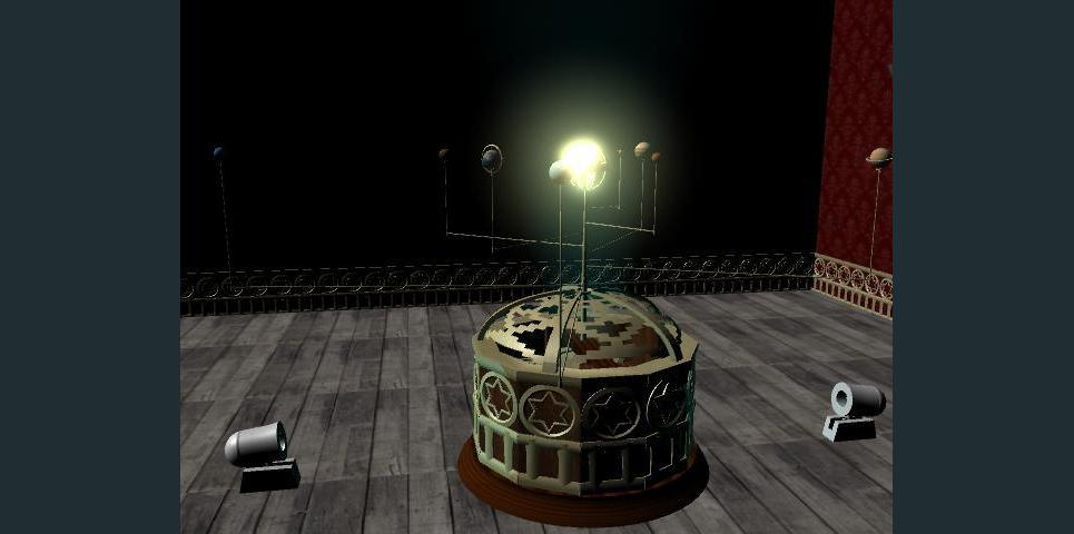 3rd maya project   mechanical orrery   victorian steampunk 36  show