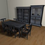Dining table set small