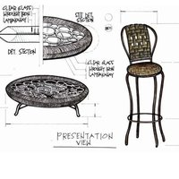 Lamkanay coffee table high chair cover