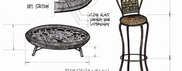 Lamkanay coffee table high chair wide