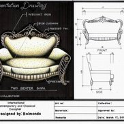 Two seater sofa small