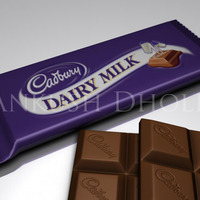 Cadbury dairy milk cover