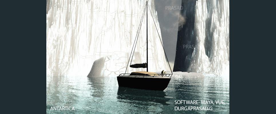 Antartica region show