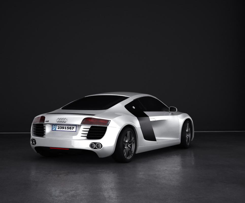 Audi r8 show