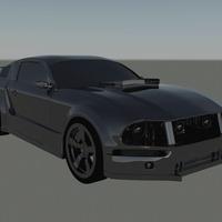 Mustang render 3 cover