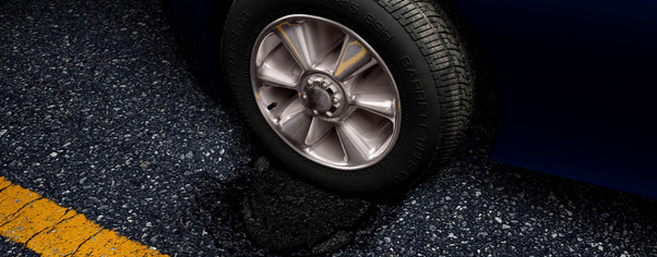 Road tire wide