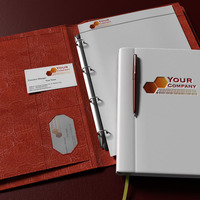 Business presentation cover