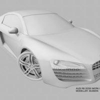 Audi r8 cover