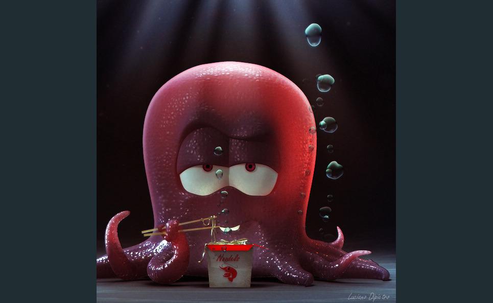 Octopus show